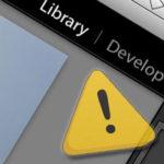 Library Warning - l'importanza di sapere sempre dove sono i nostri file