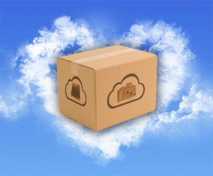 Le scatole sulla nuvola