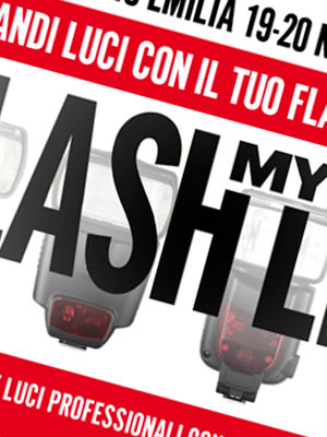 Flash My Life - Grandi luci con il tuo flash a slitta!