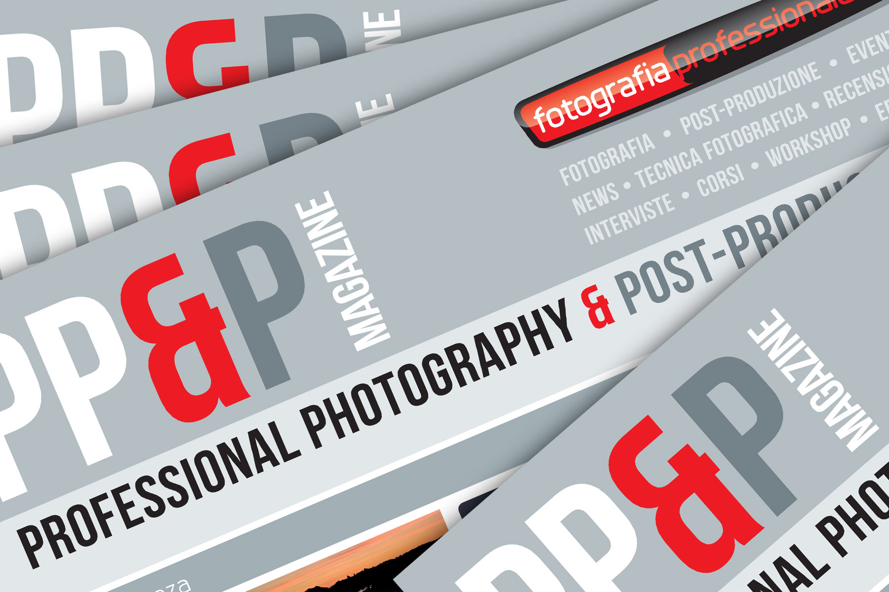 Nasce Professional Photography & Post-production, la nostra nuova e-zine!