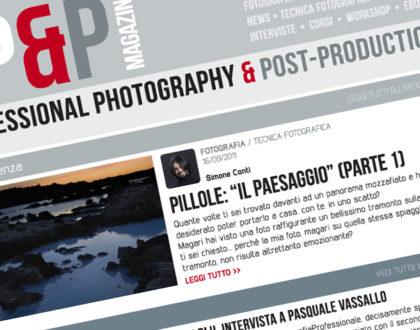 Nasce PP&P: la webzine di FotografiaProfessionale.it