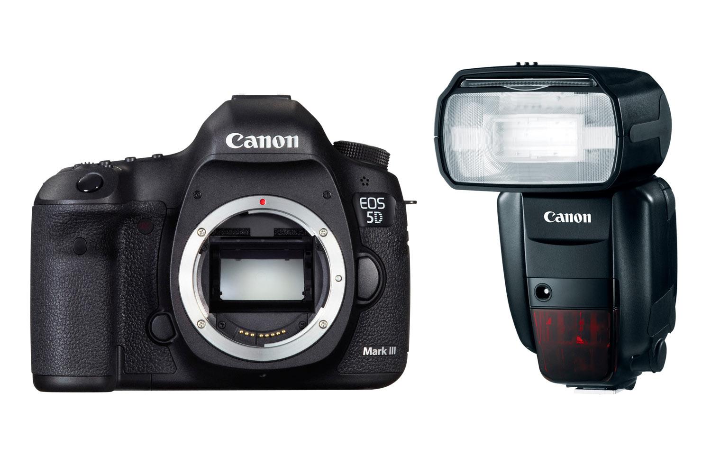 Una nuova famiglia felice in casa Canon: EOS 5D MkIII + Speedlite 600EX-RT + ST-E3-RT