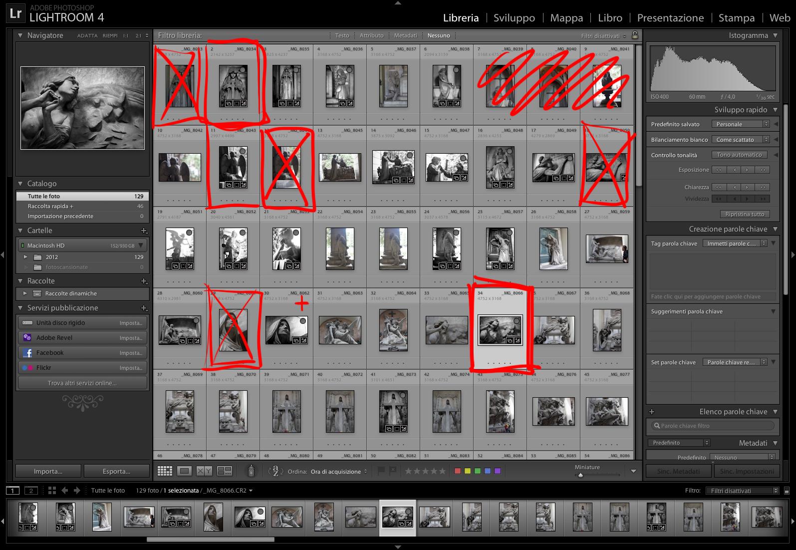 Come organizzare uno shooting (10/11 di 11): Gestire i risultati e il post-shooting