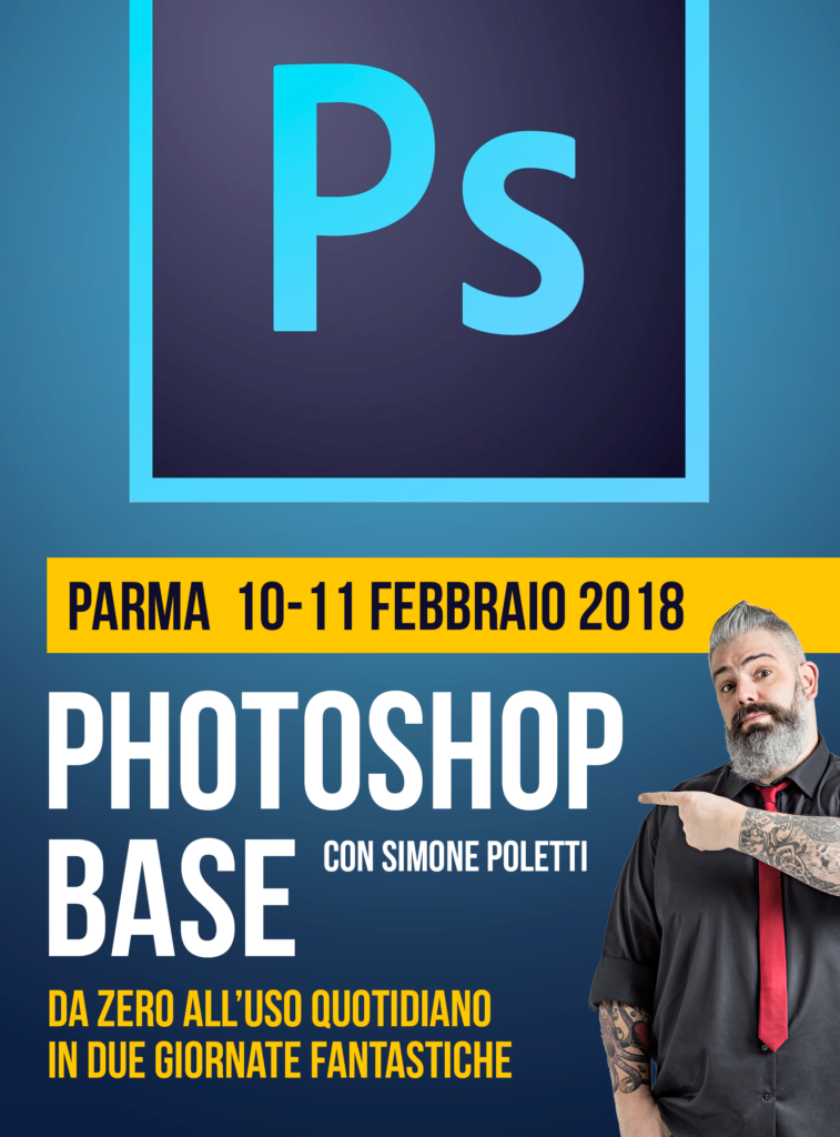 Workshop Photoshop Base di FotografiaProfessionale.it
