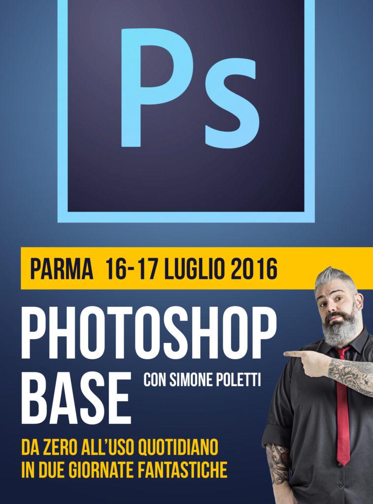 """Photoshop Base"" - Workshop di FotografiaProfessionale"