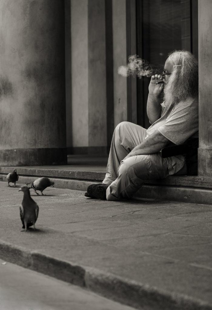 © Giuseppe Buonaiuto - Uomo con il sigaro