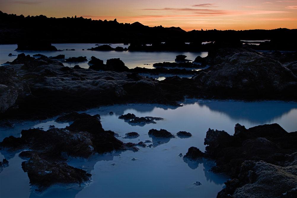 """The Blue Lagoon - © Simone Conti - Ogni tanto anche nella foto di paesaggio """"entra"""" il flash"""