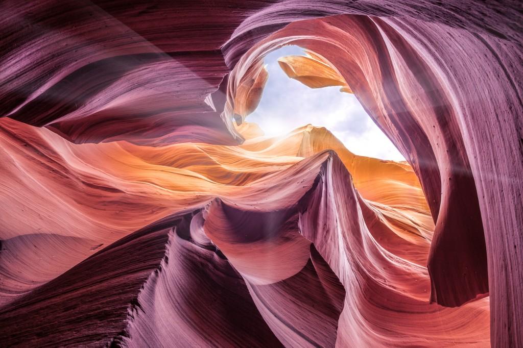 Antelope Canyon - @ Moises Levy