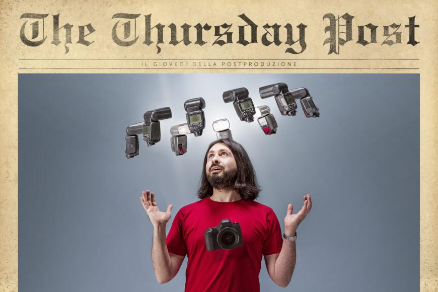 Prendete un fotografo, un flash a slitta e un ritoccatore poco serio…. La Thursday Post (production) di Aprile!