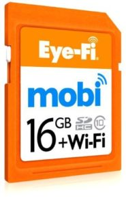 Scheda SD Eye-Fi mobi 16GB
