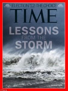 Copertina di Time Magazine realizzata a partire da uno scatto fatto con iPhone