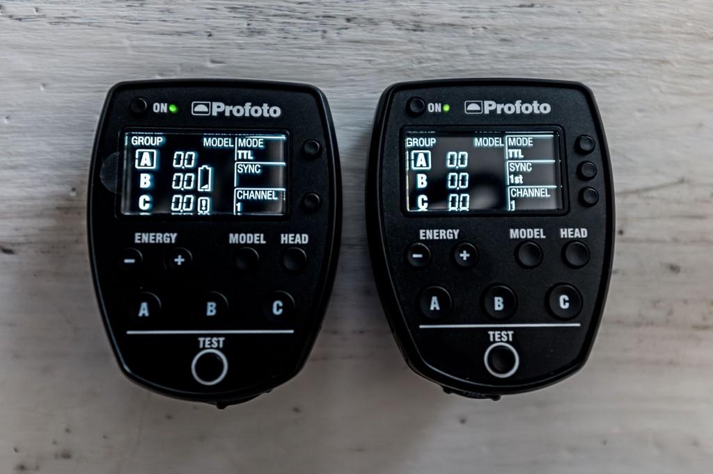 Profoto Air Remote TTL-N e TTL-C a confronto