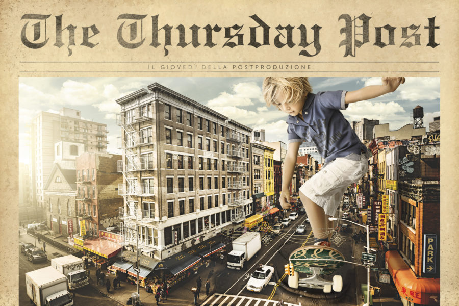 Good Zilla Skate Boy stops at the traffic lights! La Thursday post di Ottobre.