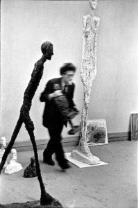 Giacometti © H.Cartier Bresson
