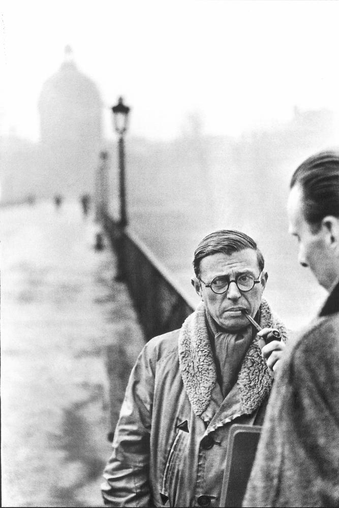 Sartre © H.Cartier Bresson