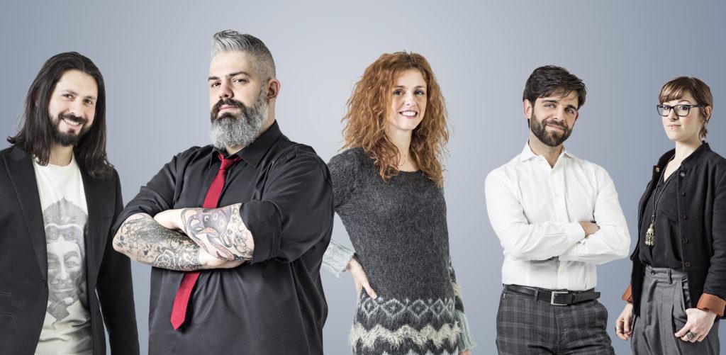 La squadra dell'Accademia di Postproduzione