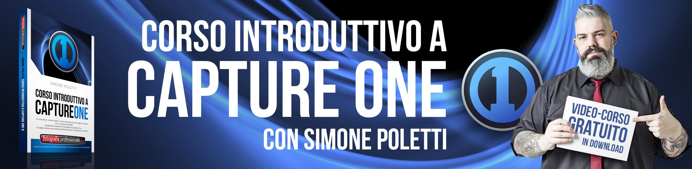 """""""Corso Introduttivo a Capture One"""" gratuito di FotografiaProfessionale"""