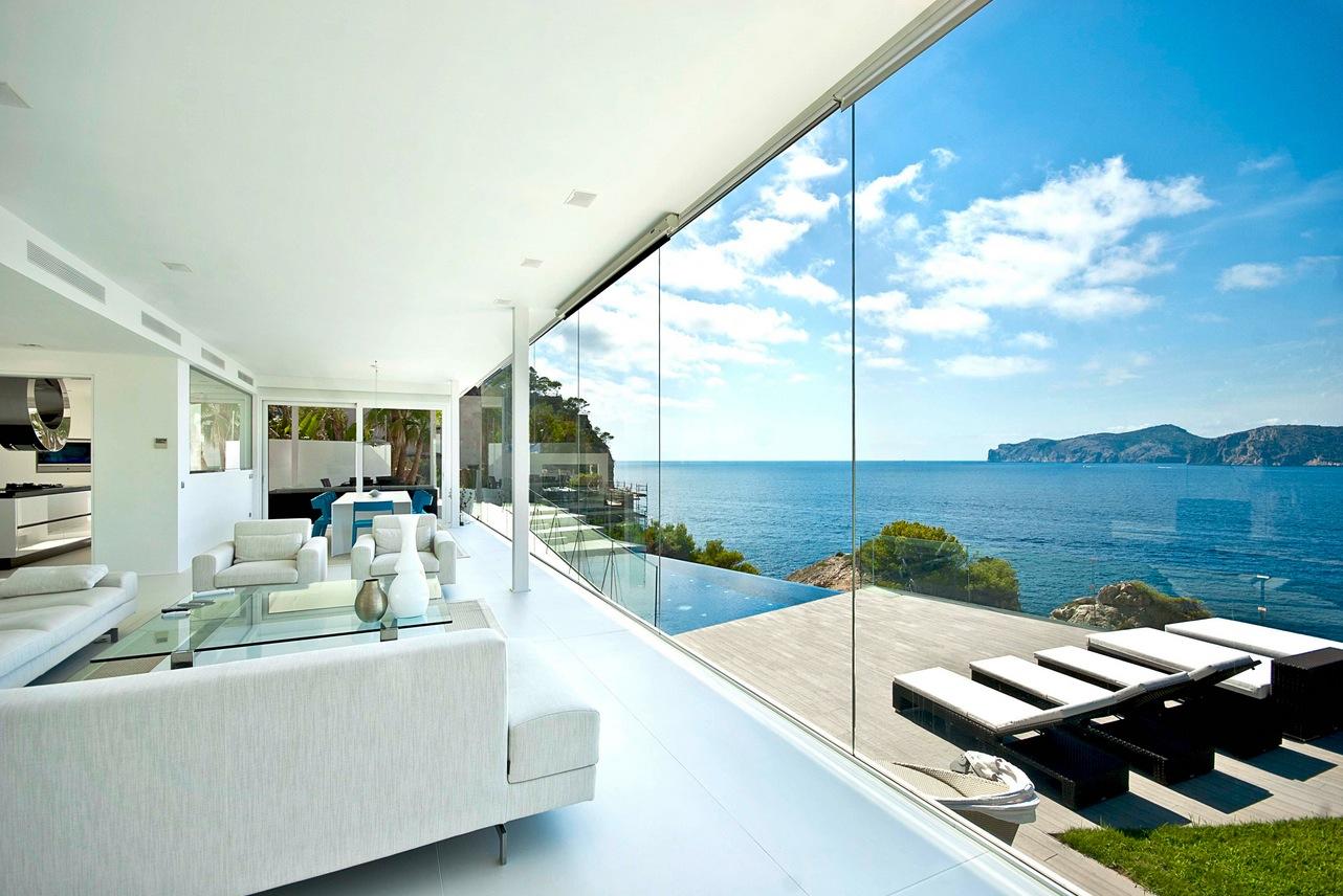 Spazi ambi e stanze luminose - © home-designing.com