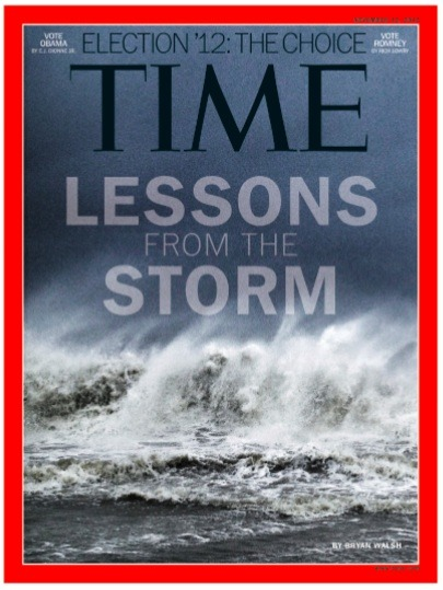 Il Time e l'Uragano Sandy