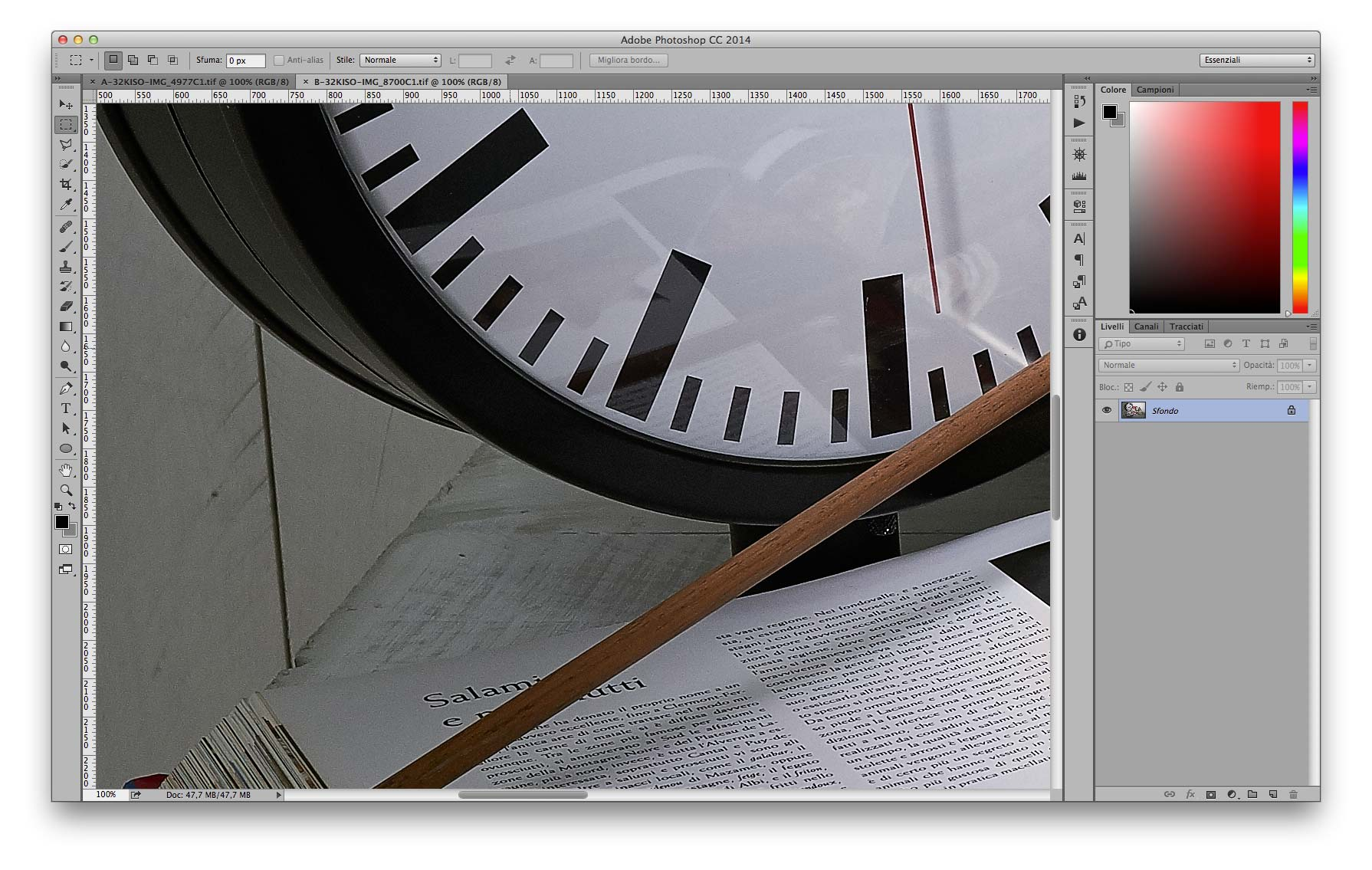 Dettaglo Alte Luci - B 35mm f/11 3200 ISO Recuperati -2EV in sviluppo