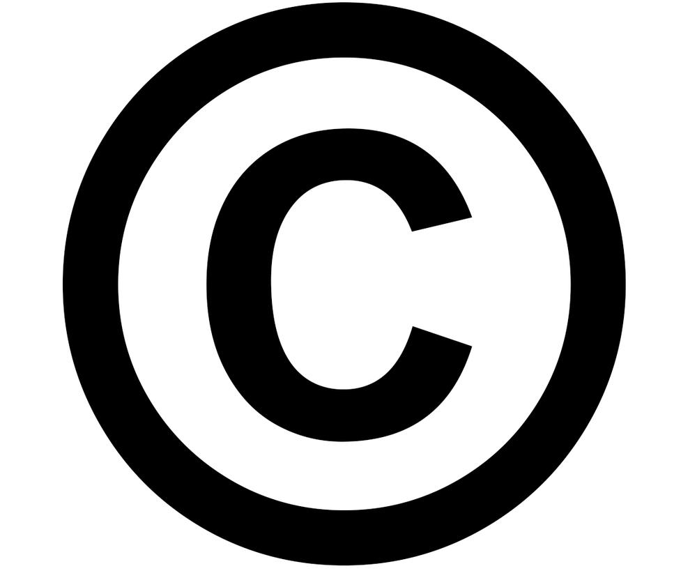 Il simbolo del Copyright