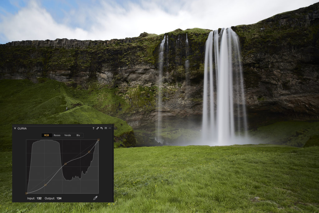 Sviluppo in Capture One 9 con Luma (foto: Gianfranco Fantin)