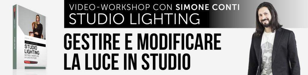 "Video-workshop ""Studio Lighting - Gestire e Modificare la Luce in Studio"" di FotografiaProfessionale.it"