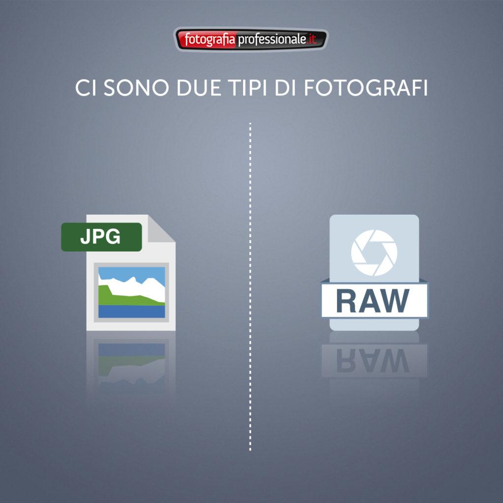Ci sono due tipi di fotografi...