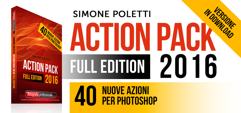 """Action Pack 2016"" - Pacchetto di Azioni per Photoshop di FotografiaProfessionale"