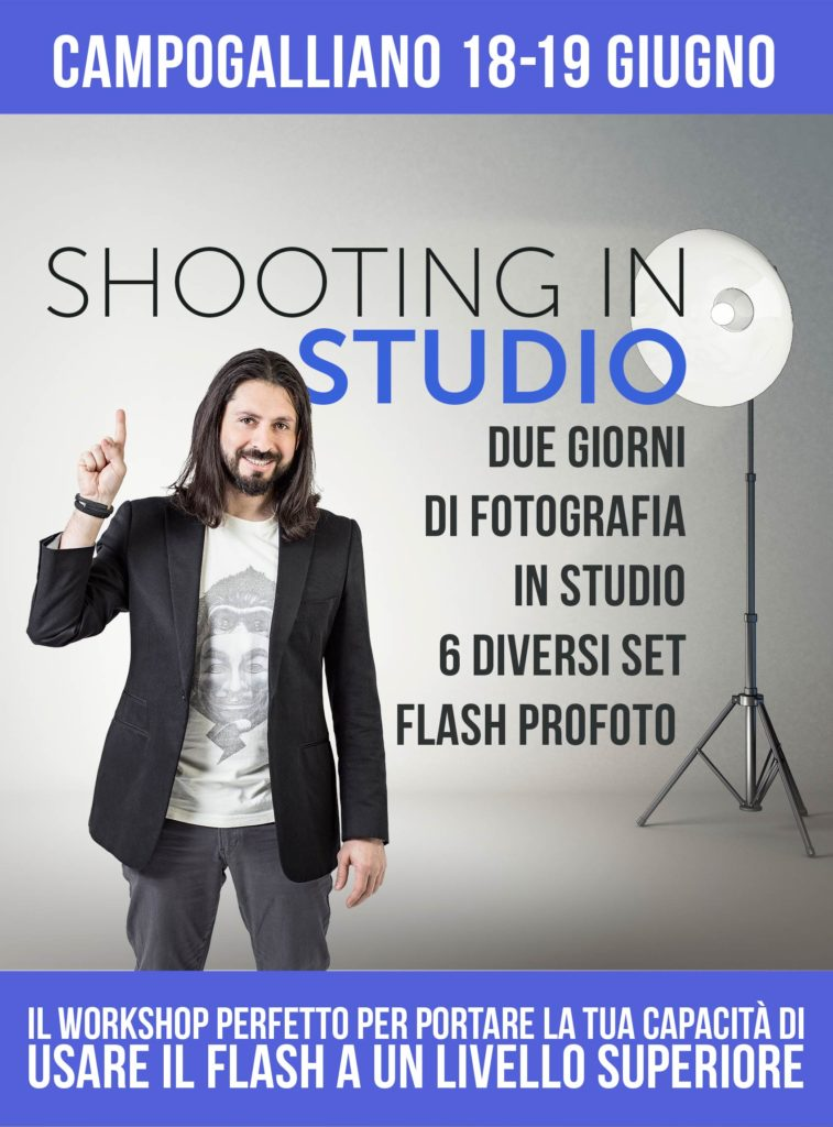 """Shooting in Studio"" - Workshop di FotografiaProfessionale"