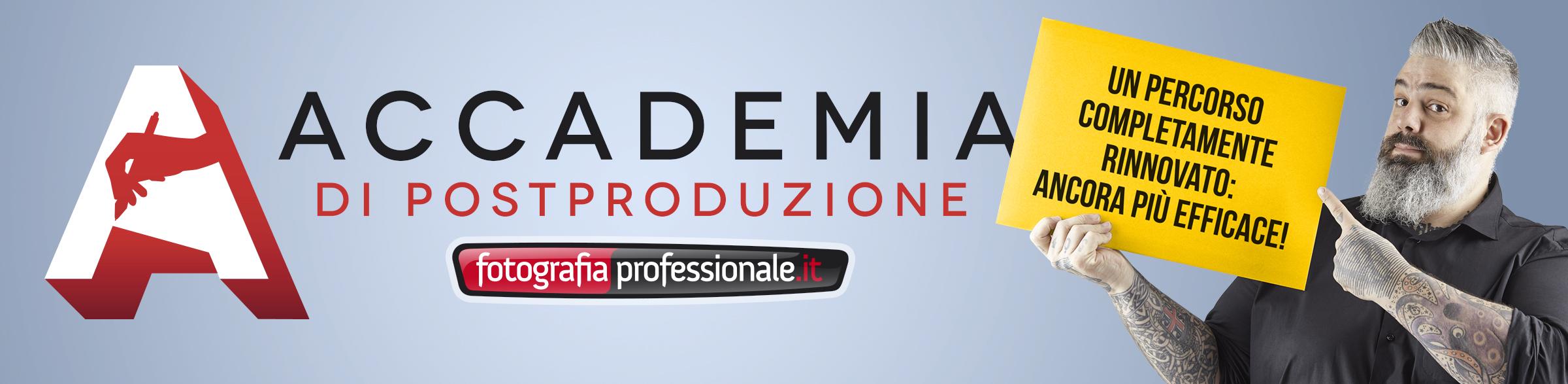Accademia di PostProduzione di FotografiaProfessionale.it