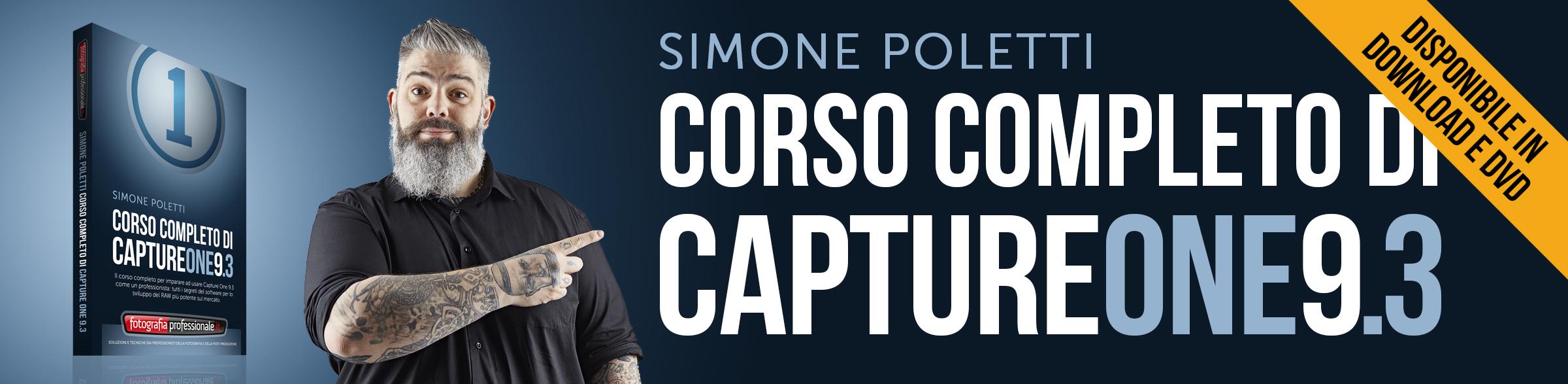 """""""Corso Completo di Capture One 9.3"""" – Video-corso in promozione di FotografiaProfessionale.it"""