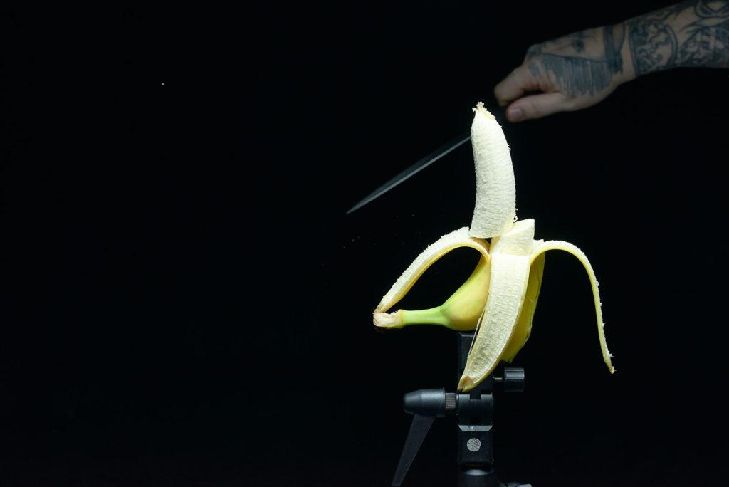 Profoto D2 Test - Banana Slicing (come taglia le banane Hattori Hanzo)