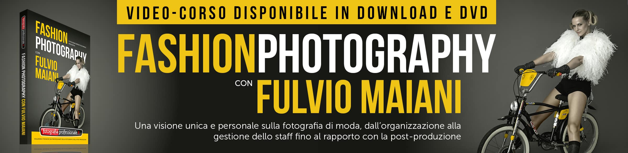 """Fashion Photography con Fulvio Maiani"" - Video-corso di FotografiaProfessionale"
