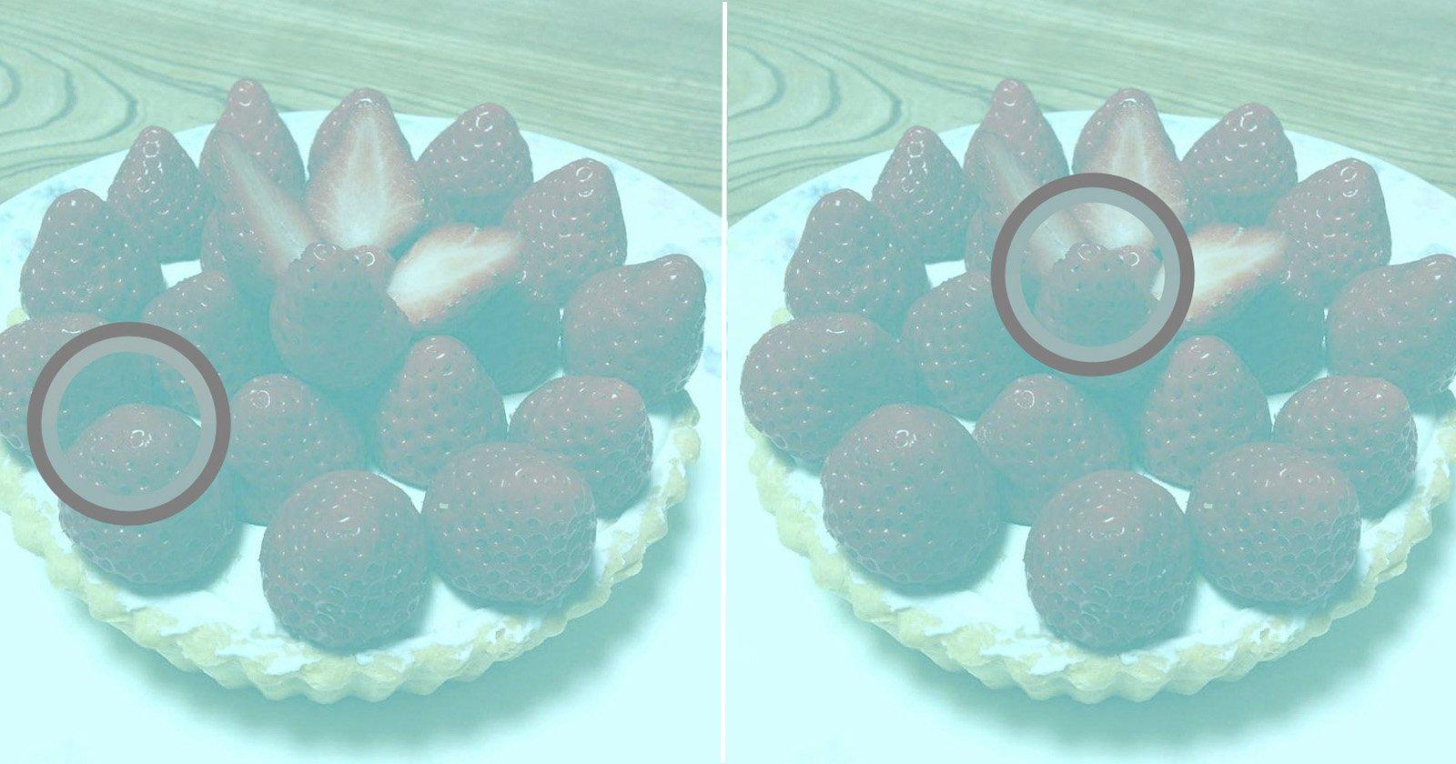 Questa foto NON ha pixel rossi: la color correction del cervello