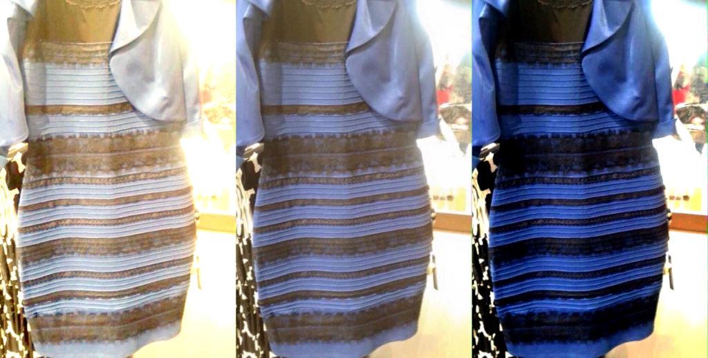 Blu e nero o bianco e oro? ARGH!
