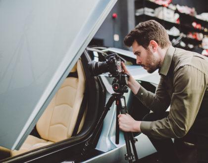 Fotografia Automotive: l'attrezzatura base
