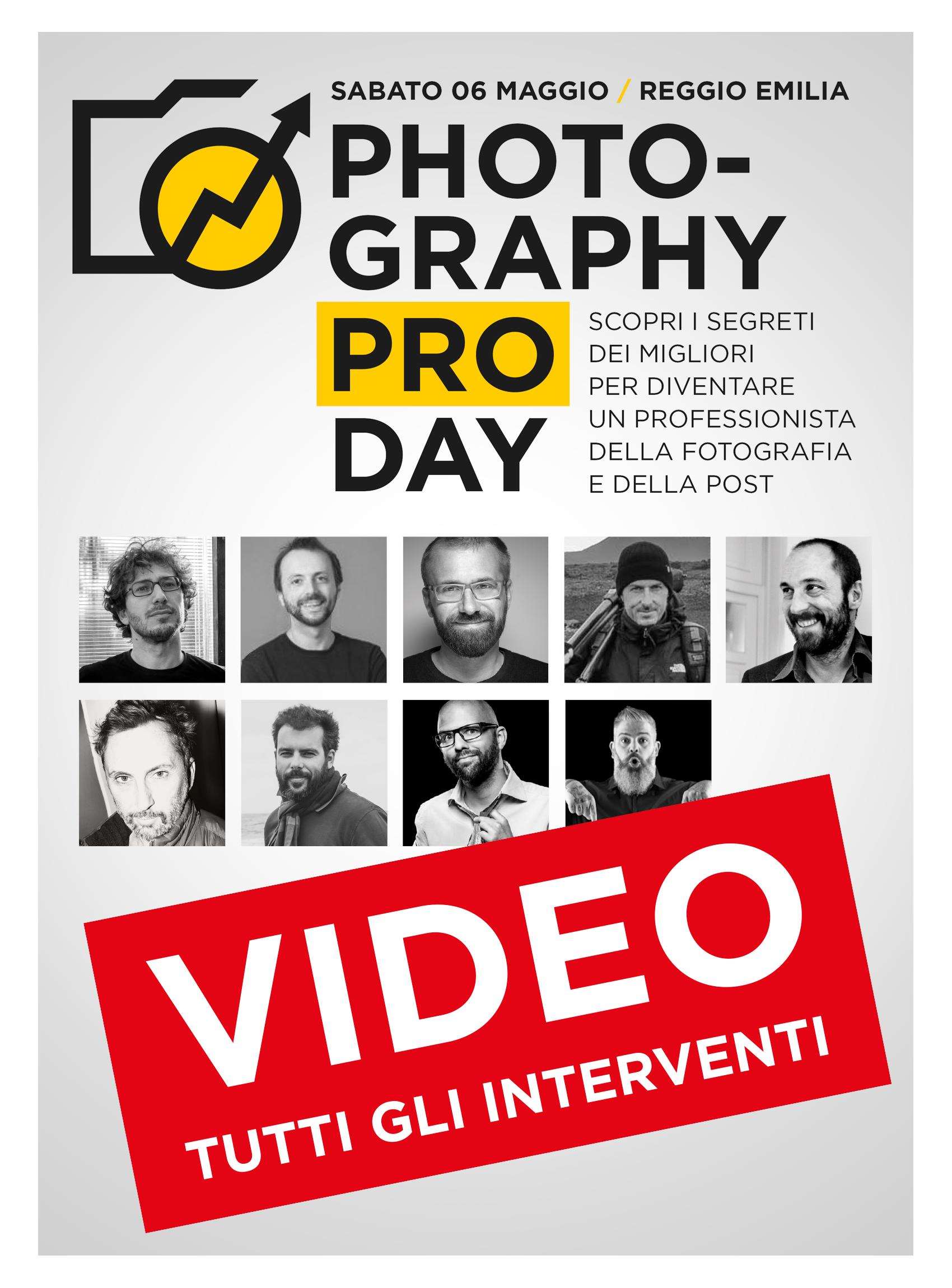 Photography Pro Day 2017 - Video-interventi