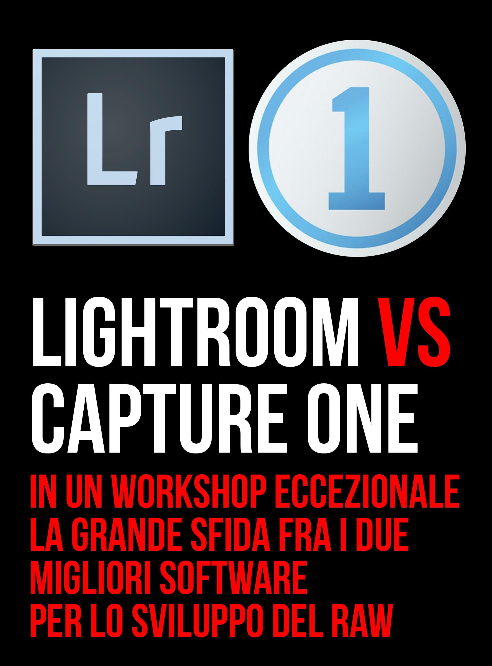 Workshop Lightroom + Capture One