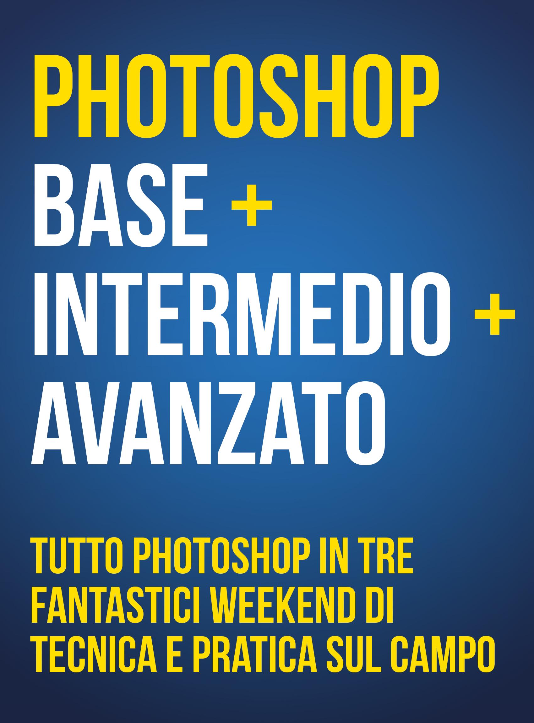 Workshop Photoshop Percorso Completo