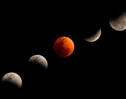 Eclissi lunare: quando e come fotografare la Luna di sangue