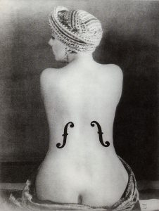 Le violon d'Ingres, Man Ray
