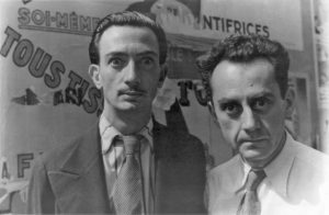 Man Ray e Salvador Dalì a Parigi (1934)