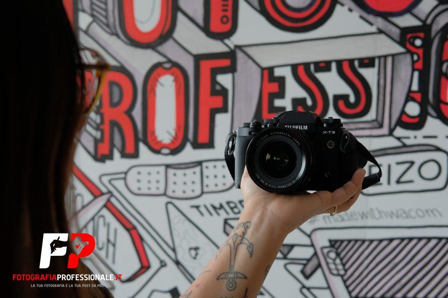 Fujifilm XT-3: colpo di fulmine per una videomaker