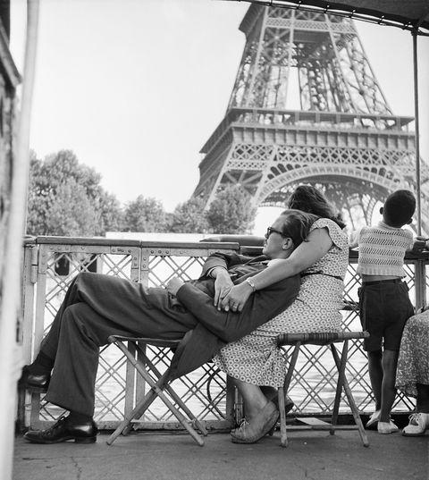 Le bateau mouche Paris, 1949 © Willy Ronis