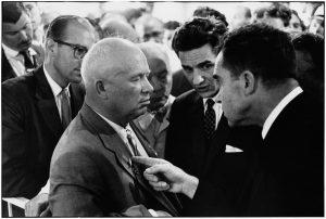 Nixon e Kruscev, Elliott Erwitt