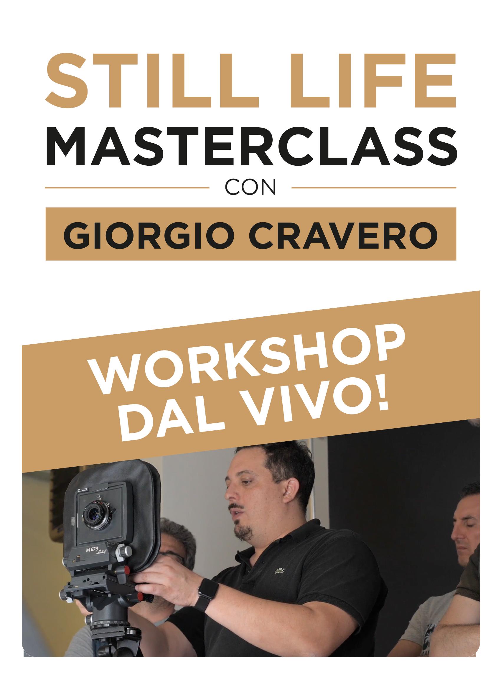 Still Life Masterclass Live con Giorgio Cravero