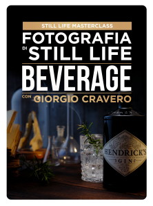 Fotografia di Still Life Beverage con Giorgio Cravero (IS)