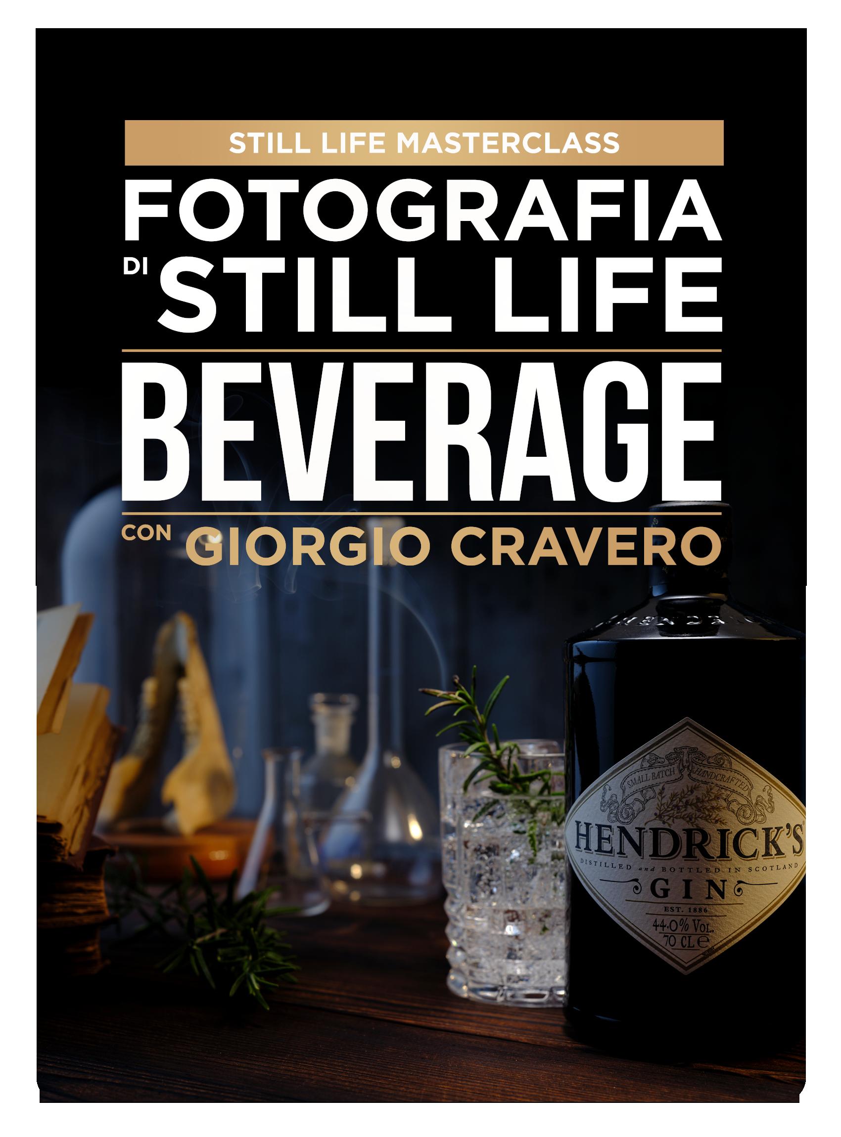 Fotografia di Still Life Beverage con Giorgio Cravero