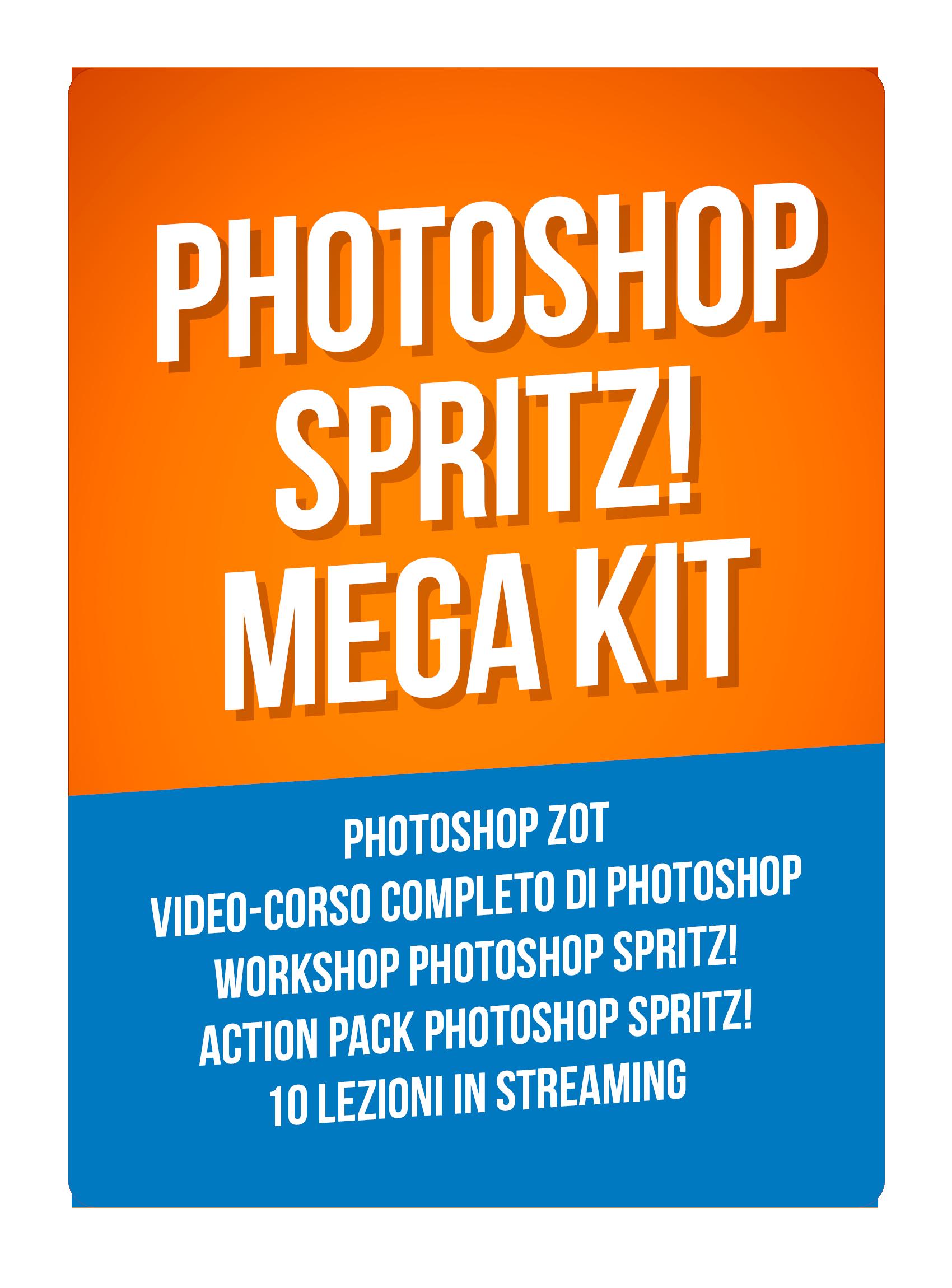 Photoshop SPRITZ! MEGA Kit